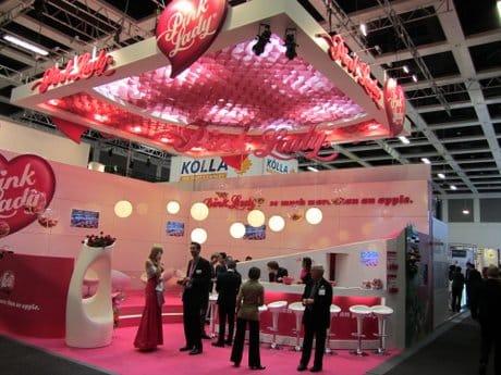Pink lady en fruit logistica 2012
