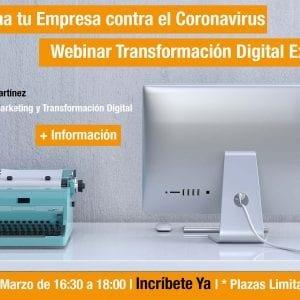 Webinar Transformación Digital Coronavirus